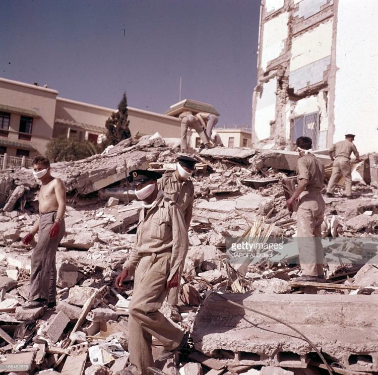 La nuit du 29 février 1960 (2 Ramadan 1380), un violent tremblement de terre, d'une durée de 15 secondes et d'une magnitude de 5,7 de l'échelle de Richter, a frappé la ville d'Agadir