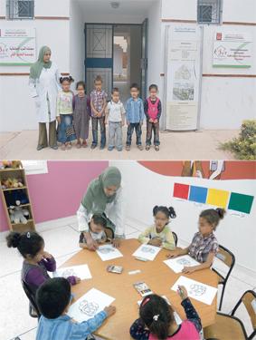 La Fondation du Sud a mis en place 6 crèches communautaires de solidarité dont 2 avec transport scolaire. L'objectif étant que les enfants soient bien encadrés et pris en charge durant l'absence de leurs parents (Ph. AA)