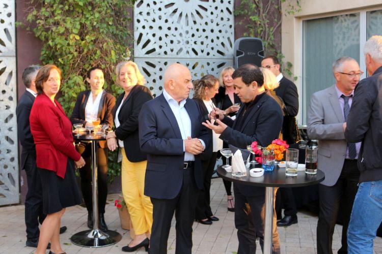 Guy Marrache en conversation avec Brahim Mazned