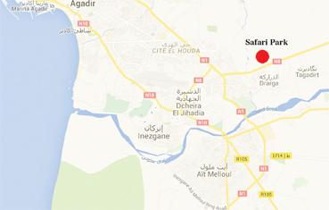 La création d'un parc zoologique à Drarga, à 10 mn d'Agadir, arrive à point dans une destination pénalisée par le peu de pôles d'animation touristique disponibles (Source: CRI)