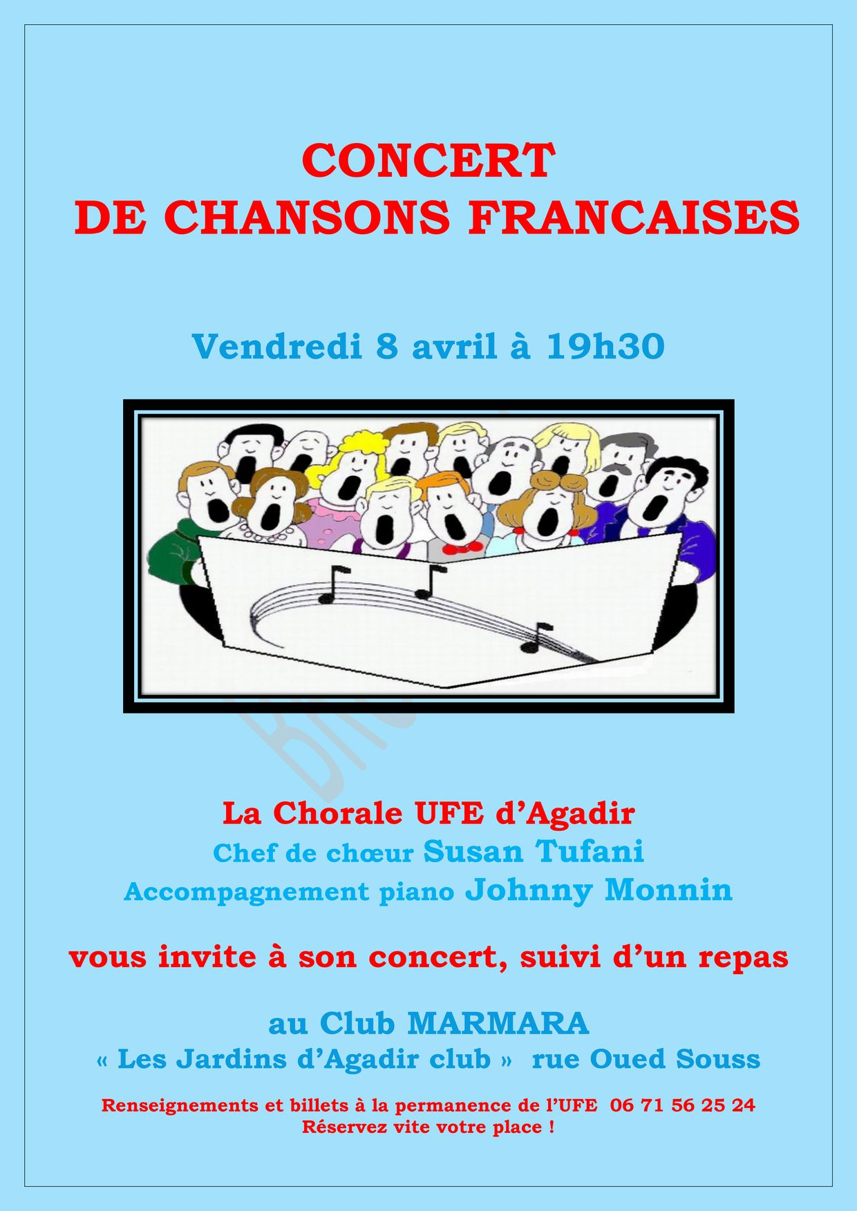 affiche concert A3
