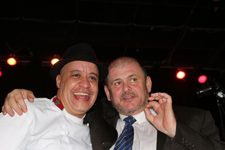 Chef Moha et Jean-Louis Huc
