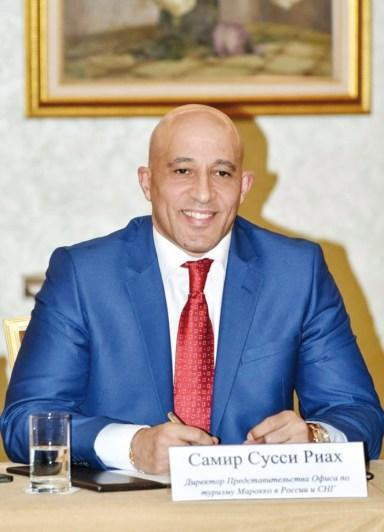 Samir Soussi Riah, directeur ONMT pour la Russie et la Communauté des États indépendants