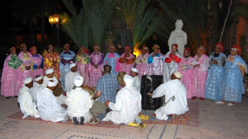 Danse à Ouarzazate