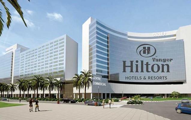 l'hôtel Hilton de Tanger