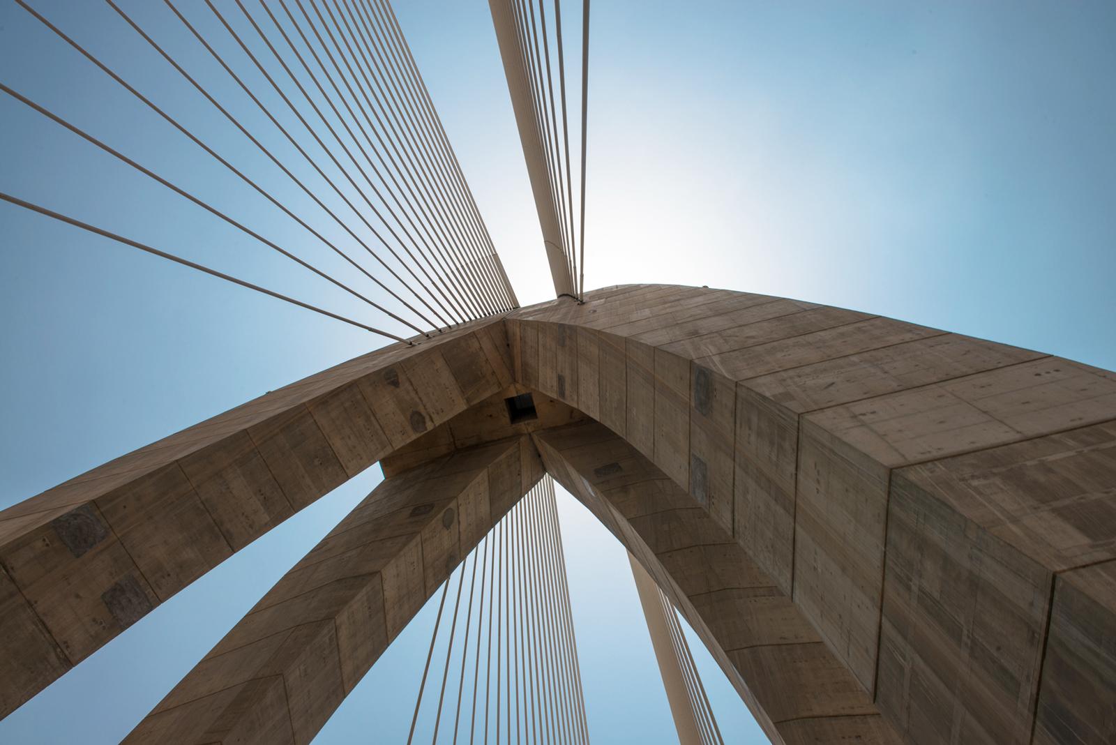 Le maroc se dote de son premier pont hauban l un des plus longs d afrique - Premier pont a haubans ...