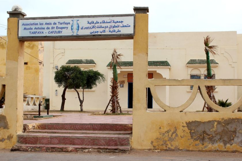 Le Musée à Tarfaya ( Photo M. Terrier)