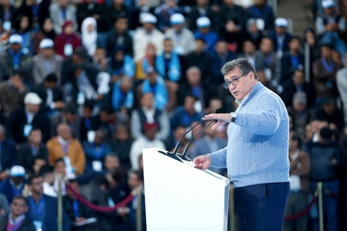 Aziz Akhannouch, patron du RNI