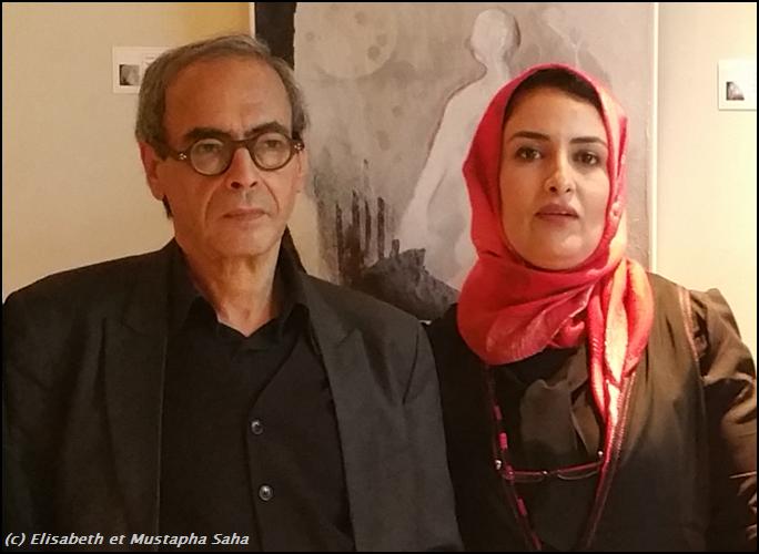 Mustapha Saha et Samira Ait Lamaâlam
