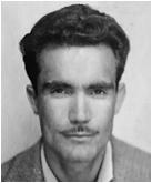 Serge Villaplana au temps où il était commis au port d'Agadir, dans les années 50