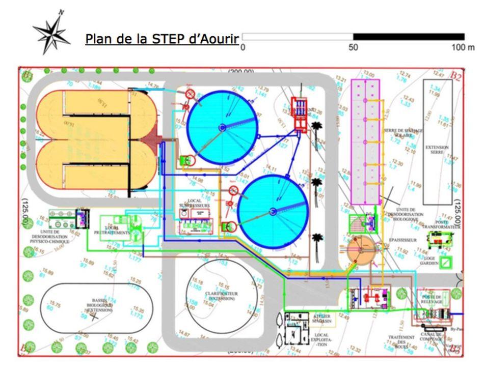 La station d assainissement et de traitement des eaux d - Lagunage des eaux usees ...